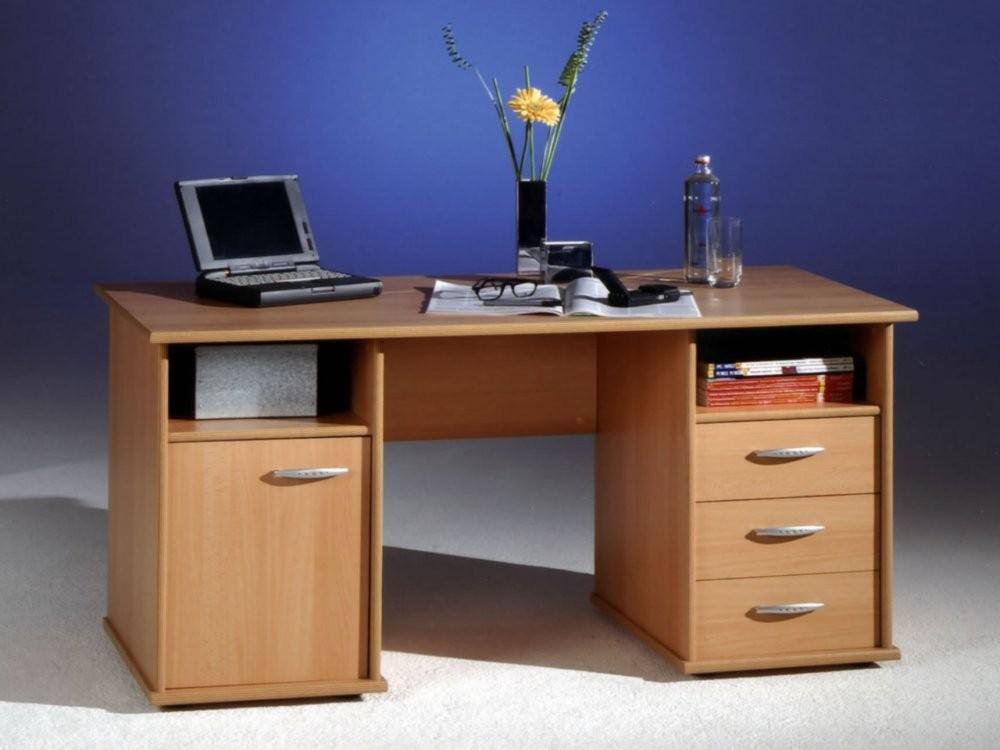 bega 39 170 27 schreibtisch penta in buche nachbildung trend. Black Bedroom Furniture Sets. Home Design Ideas